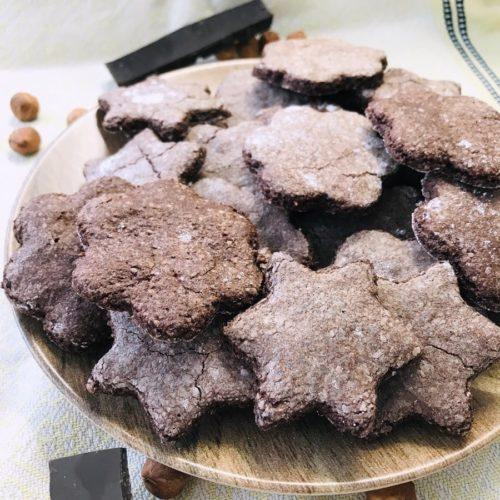 sables noisette chocolat (