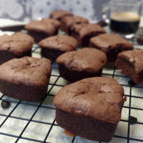 moelleux fondant chocolat café