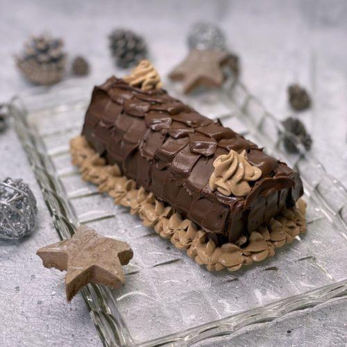 buche facile chocolat praliné