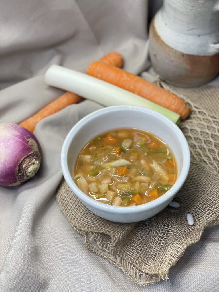 Minestrone traditionnel