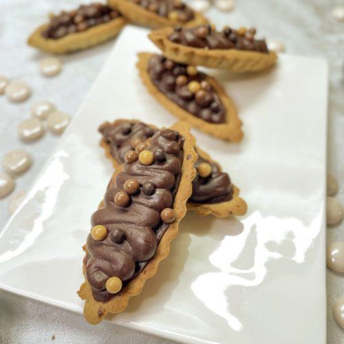 Tartelette chocolat sarrasin