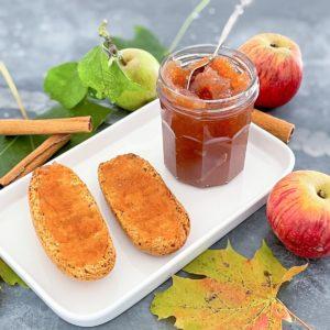 confiture maison pommes cannelle1