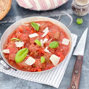 boulette viande italienne lentilles