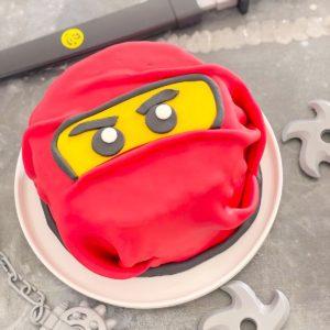 gateau ninja chocolat chiffon cake